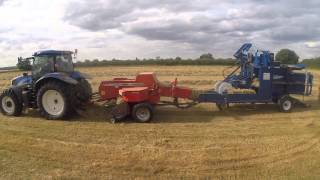 preview picture of video 'Brook Farm Hay Time'