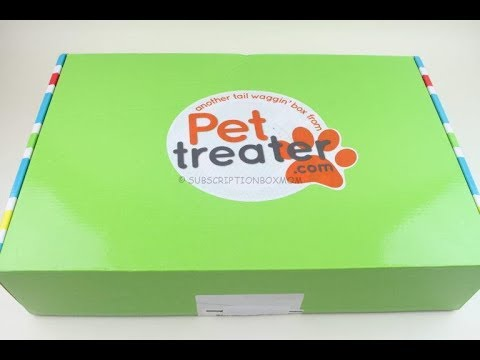 Pet Treater Box July 2018 Unboxing + Coupons #PetTreater