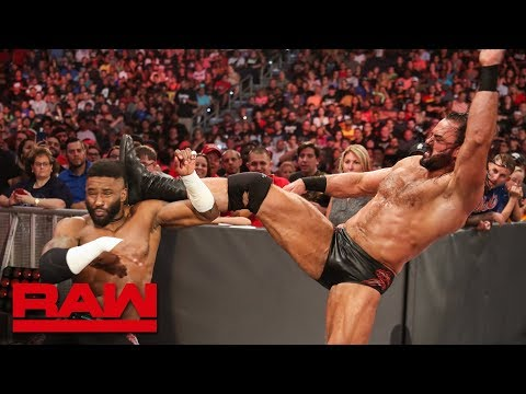 Drew McIntyre unleashes a vicious attack on Cedric Alexander: Raw Reunion, July 22, 2019