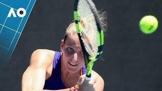Pliskova v Golubic match highlights (1R) | Australian Open 2017