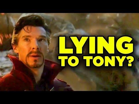 Avengers Endgame Doctor Strange's LIE Explained!