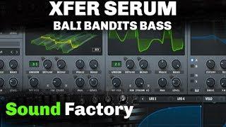 Serum Tutorial: Bassjackers & Bali Bandits - Are you randy? // Bass