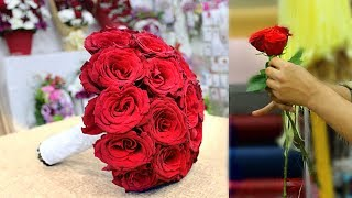 Wedding Bouquet. How To Make Wedding Bouquet || Bridal Bouquet