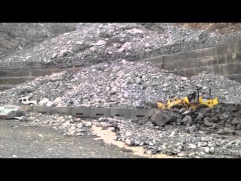 انهيارات  طريق كرى بعد أمطار 22-5-1433