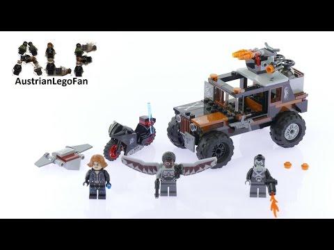 Vidéo LEGO Marvel Super Heroes 76050 : L'attaque toxique de Crossbones