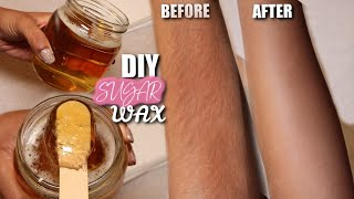 HOW TO MAKE YOUR OWN DIY SUGAR WAX AT HOME