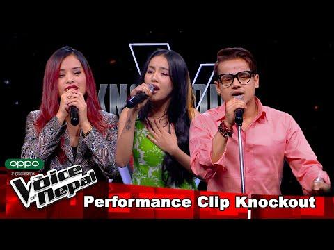 Sudita Vs Kiran Vs Melina| Knockout |The Voice of Nepal Season 3 - 2021