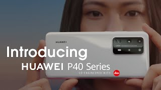 YouTube Video GZ9HKeUJbsw for Product Huawei P40 Series Smartphones P40, P40 Pro, P40 Pro+ by Company Huawei Technologies in Industry Smartphones