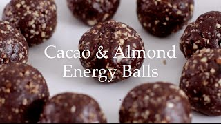 Deliciously Ella - Cacao & Almond Energy Balls