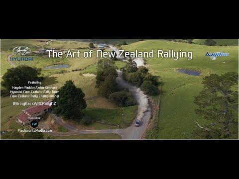 The Art Of New Zealand Rallying: Rally Whangarei