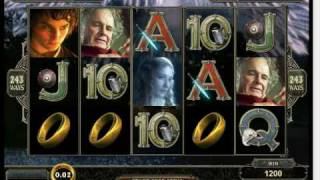 WWW.CASINOGAMES.SK Uvádza Lord Of The Rings - Fellowship Of The Ring