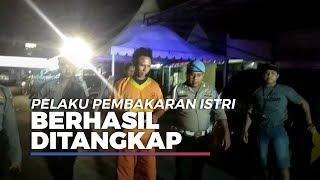 Sempat Kabur, Pelaku Bakar Istri di Dalam Truk Ditangkap Polisi