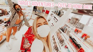 Target shopping with adelaine, cute at home dinner date!