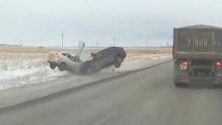 Жесткие аварии Февраля, подборка дтп, третья неделя (Channel Жёсткие аварии)