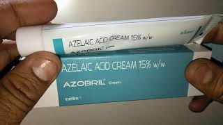 AZOBRIL Cream Review In Hindi एक्ने का अचूक इलाज !