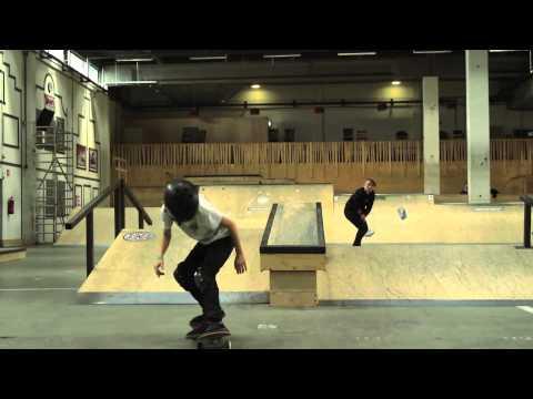 Candy Jacobs & Keet Okdenbeuvind In Skatepark Utrecht