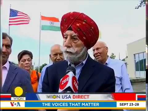 Members of Indian-American business community on Howdy, Modi event