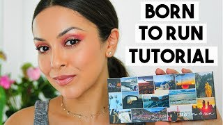 URBAN DECAY BORN TO RUN PALETTE EYESHADOW TUTORIAL - TrinaDuhra