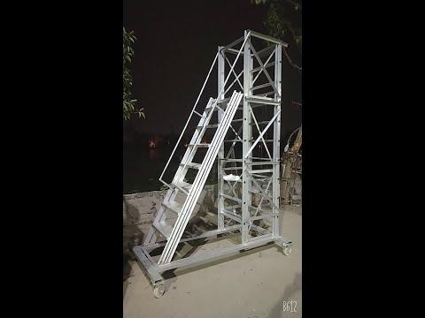 Aluminium Trolley Tower Ladder