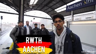 RWTH Aachen - Campus tour by Nikhilesh Dhure (Meeting Indian students in Aachen)