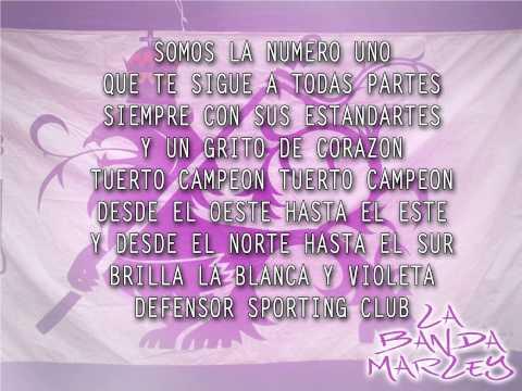 """""""Somos la número 1"""" Barra: La Banda Marley • Club: Defensor"""