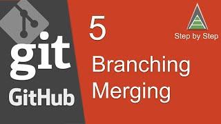 Git and GitHub Beginner Tutorial 5 - Branching and Merging