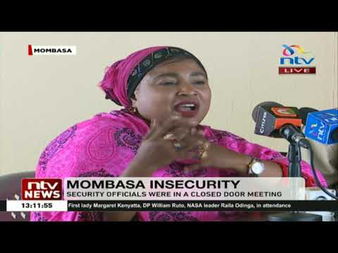 Top security chiefs meet to discuss insecurity in Mombasa