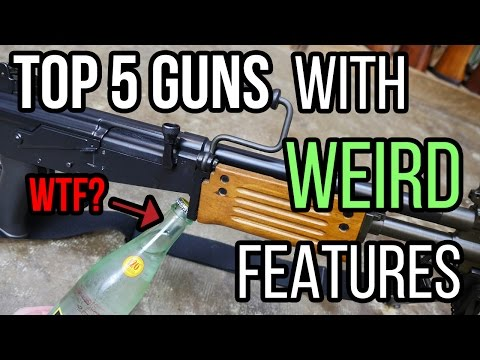 Top 5 Guns With Strange WTF Features | TFBTV