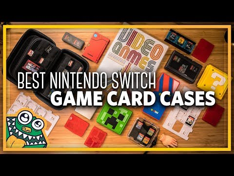 12 Best Nintendo Switch Game Card Cases - List and Overview