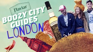 Top 3 London Restaurants To Drink Scotch | Boozy City Guides [feat. CHICKEN WING HATS]