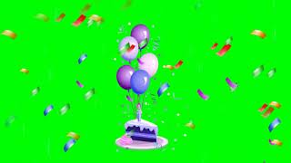 green screen effects backgrounds birthday - TH-Clip