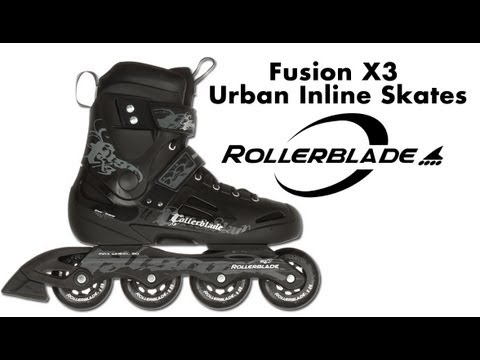 Rollerblade Fusion X3 Urban Inline Skates Review