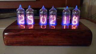 Nixie Clock by Andy