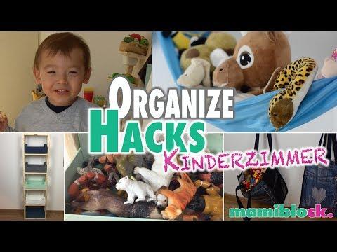Ordnung im Kinderzimmer | ORGANIZE MOM HACKS | mamiblock