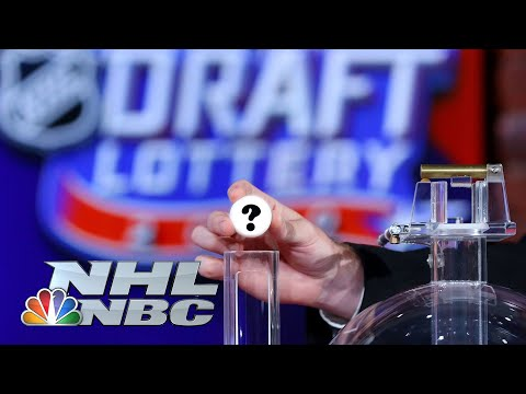 NHL Draft Lottery: Who won the first pick in 2020? | NBC Sports