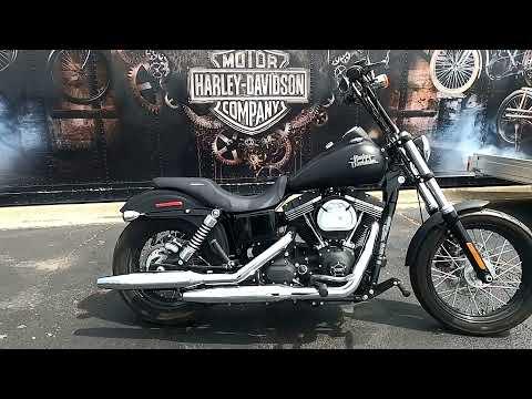 2016 Harley-Davidson Street Bob FXDB 103