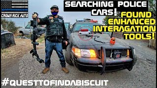 Searching Police Cars Found Enhanced Interrogation Tools!