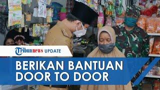 Bupati Trenggalek Beri Bantuan secara Door to Door untuk Warga yang Paling Terdampak Corona