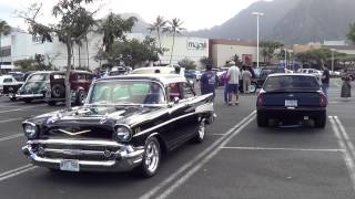 preview picture of video 'Hot Rod Cruise Night Kaneohe Windward Mall  2/16/2013'
