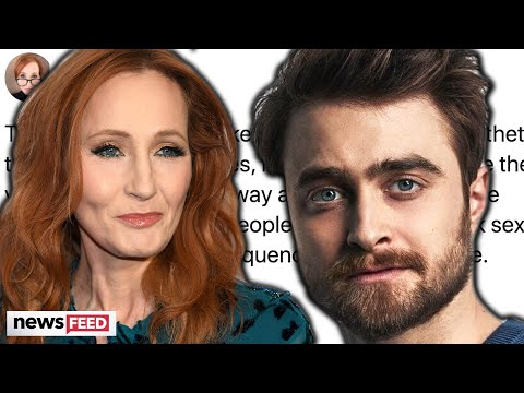 Daniel Radcliffe RESPONDS To J.K. Rowling's Transphobic Comments