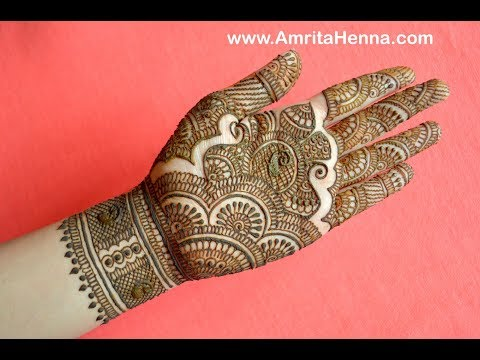 Download Traditional Mehndi Design For Hands By Spark Shine