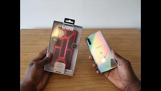 UAG Monarch Crimson Case For Samsung Galaxy Note 10+