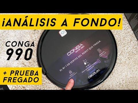Conga 990: ¡Análisis a fondo con prueba de fregado! (El nuevo Conga Excellence 990)
