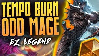 EZ Legend with Tempo Burn Nightblade Mage | Rastakhan