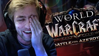 FIRST LOOK AT BATTLE FOR AZEROTH ALPHA!
