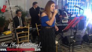 Ikaw (Yeng Constantino) cover by Libante Strings ft. Sharm - Wedding Musicians Philippines