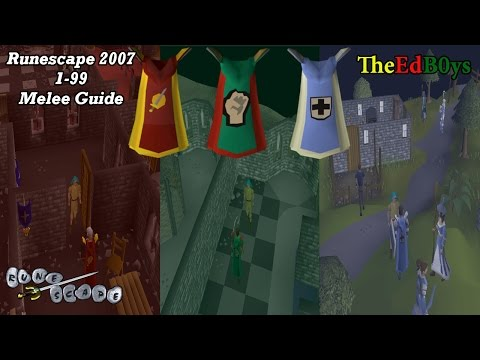Video Runescape 2007 1-99 Melee Guide | OSRS Attack Strength Defence Guide