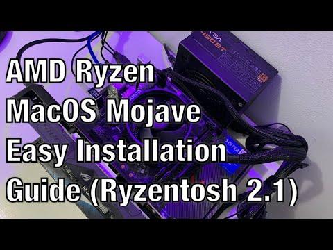 AMD Ryzen MacOS Mojave Easy Installation Guide (Ryzentosh