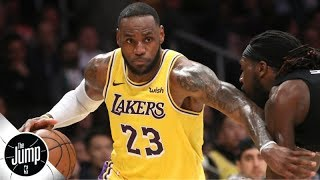 Lakers are asking a lot of LeBron James by starting him at point guard - Marc J. Spears | The Jump