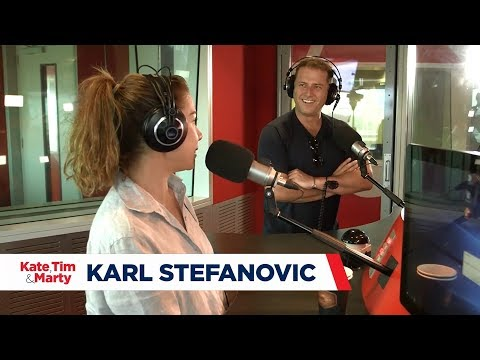 The final Quick Draw of the year: Kate Ritchie vs. Karl Stefanovic
